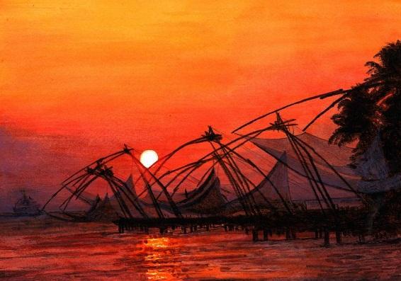 Trivandrum-Kanyakumari-Kovalam-Alleppey-Kumarakom-Thekkady-Munnar-Cochin